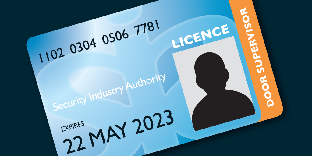 Apply for an SIA Licence Badge